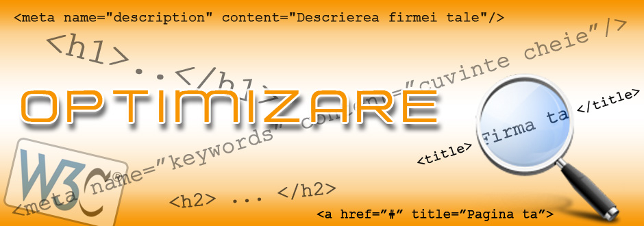 Promovare, optimizare, creare site - web design